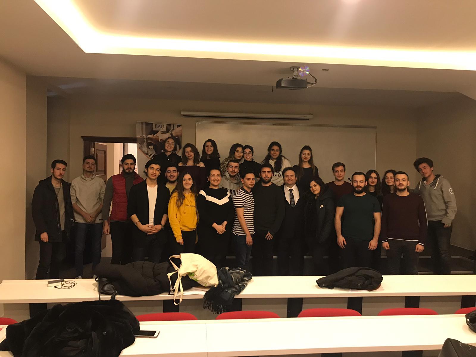 Serkan UYGUR BAU Kariyer ve Gelişim Kulübü Neuromarketing Eğitimi