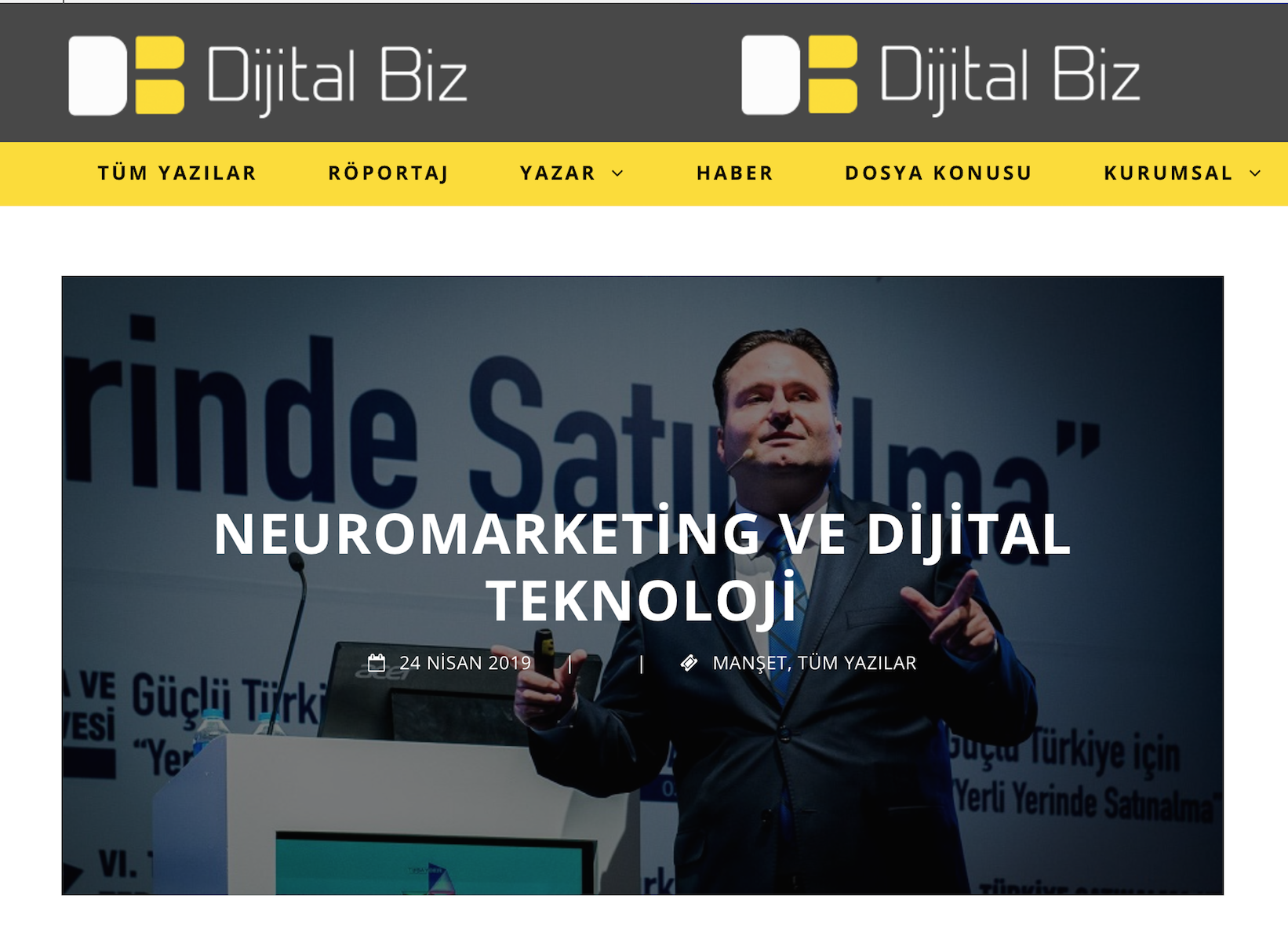 Şenol VATANSEVER & Serkan UYGUR Dijital Biz Neuromarketing