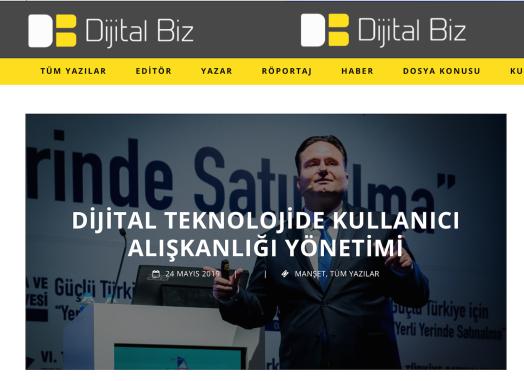 www.serkanuygur.com.tr Dijital Teknolojide Kullanıcı Alışkanlığı Yönetimi